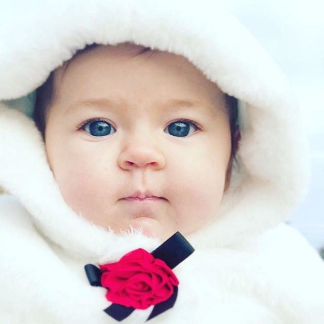 Merry Christmas! I can't resist this picture of my beautiful Miriam Anastasia. Only 4 months old and already amazing her mama by her persistent, intelligent, determined, and winsome nature.