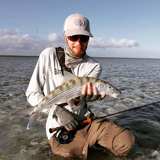 Cant wait for our trip to the Bahamas this winter/spring. Hunting tricky bones in skinny water, its hard to beat that!
