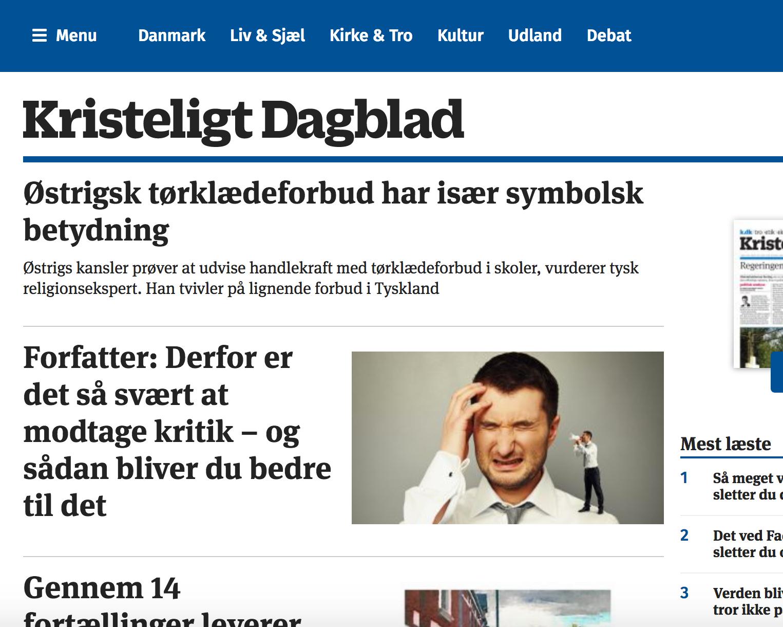 11.04.2018 Kristeligt Dagblad boguddrag