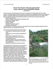 SOAP: Cover Crops