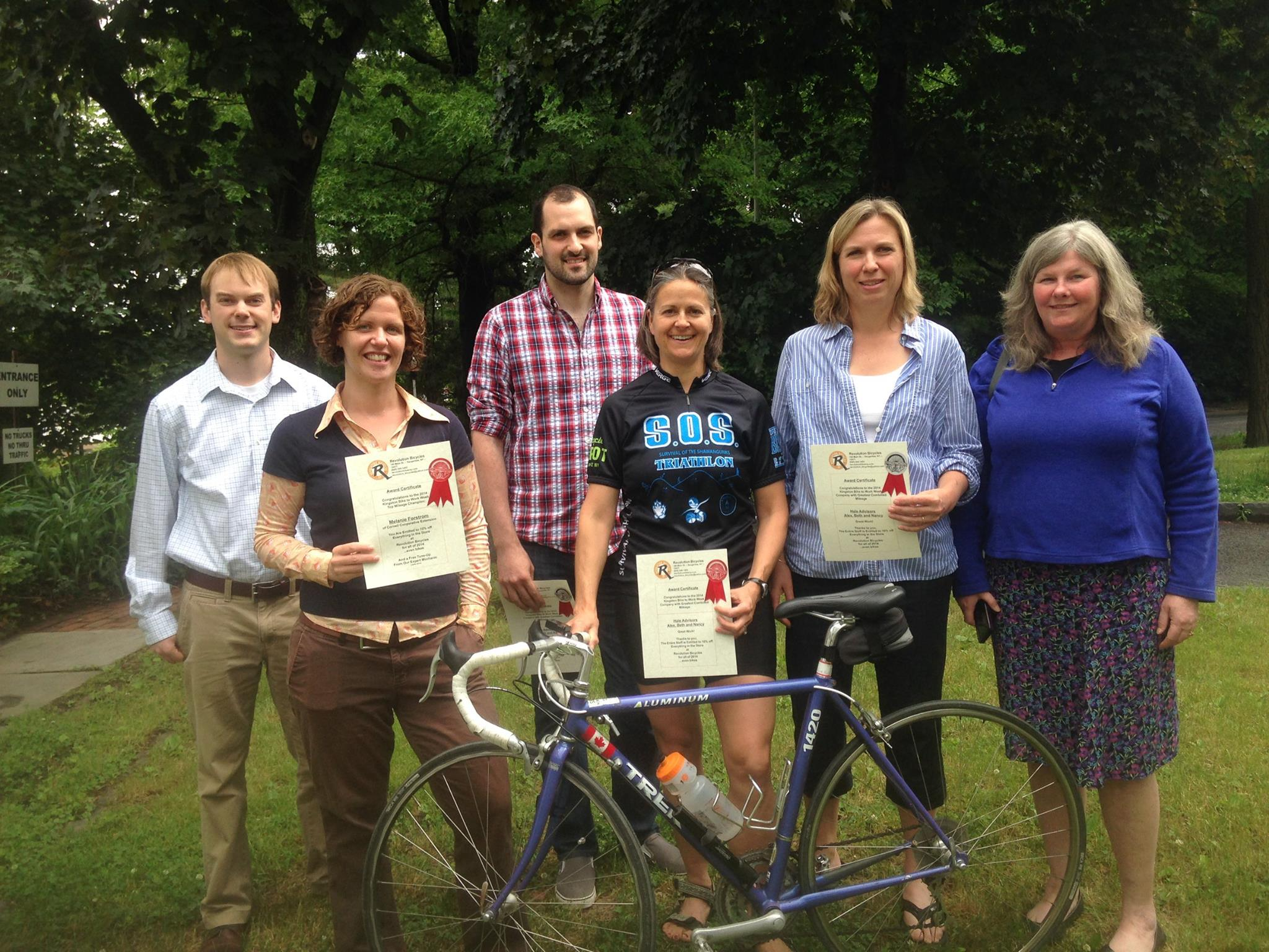 2014 Bike-To-Work Winners