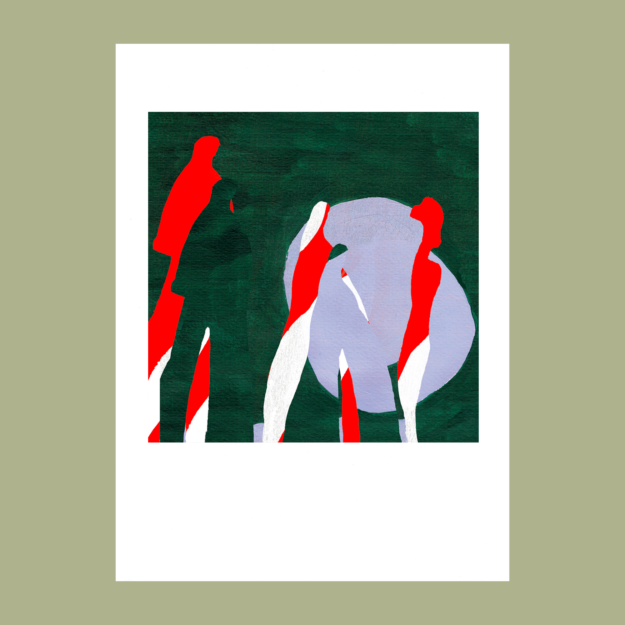 Grace Attlee, illustration, illustrator Margate, illustrator collage, illustration 2019