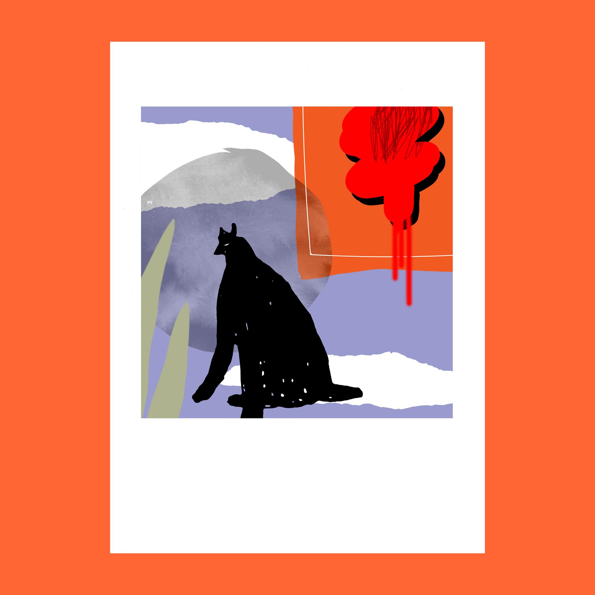 Grace Attlee, illustrator, painter, emerging artist, Margate, illustration, collage