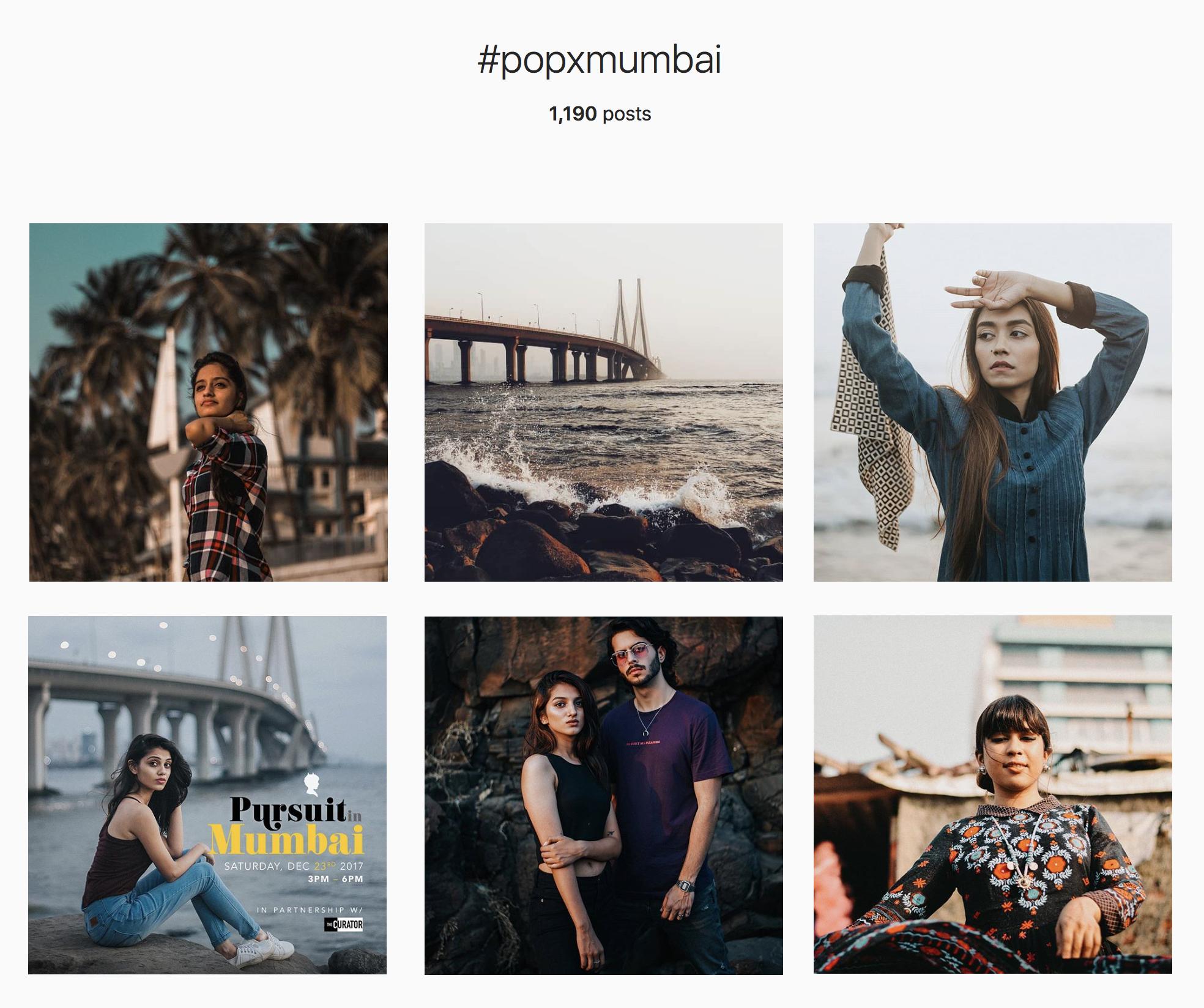 Select photos above via  #PoPxMumbai