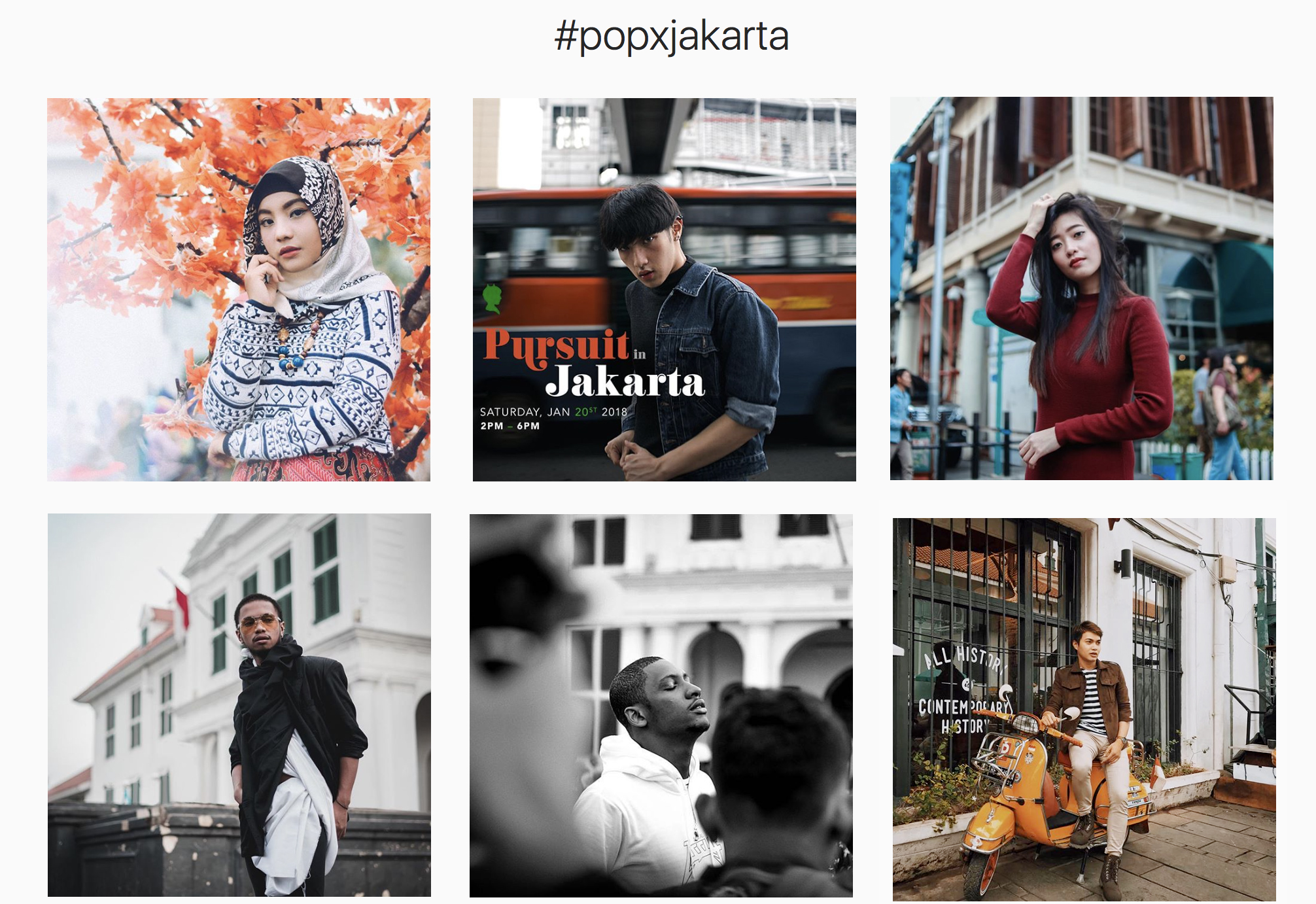 Select photos above via  #PoPxJakarta