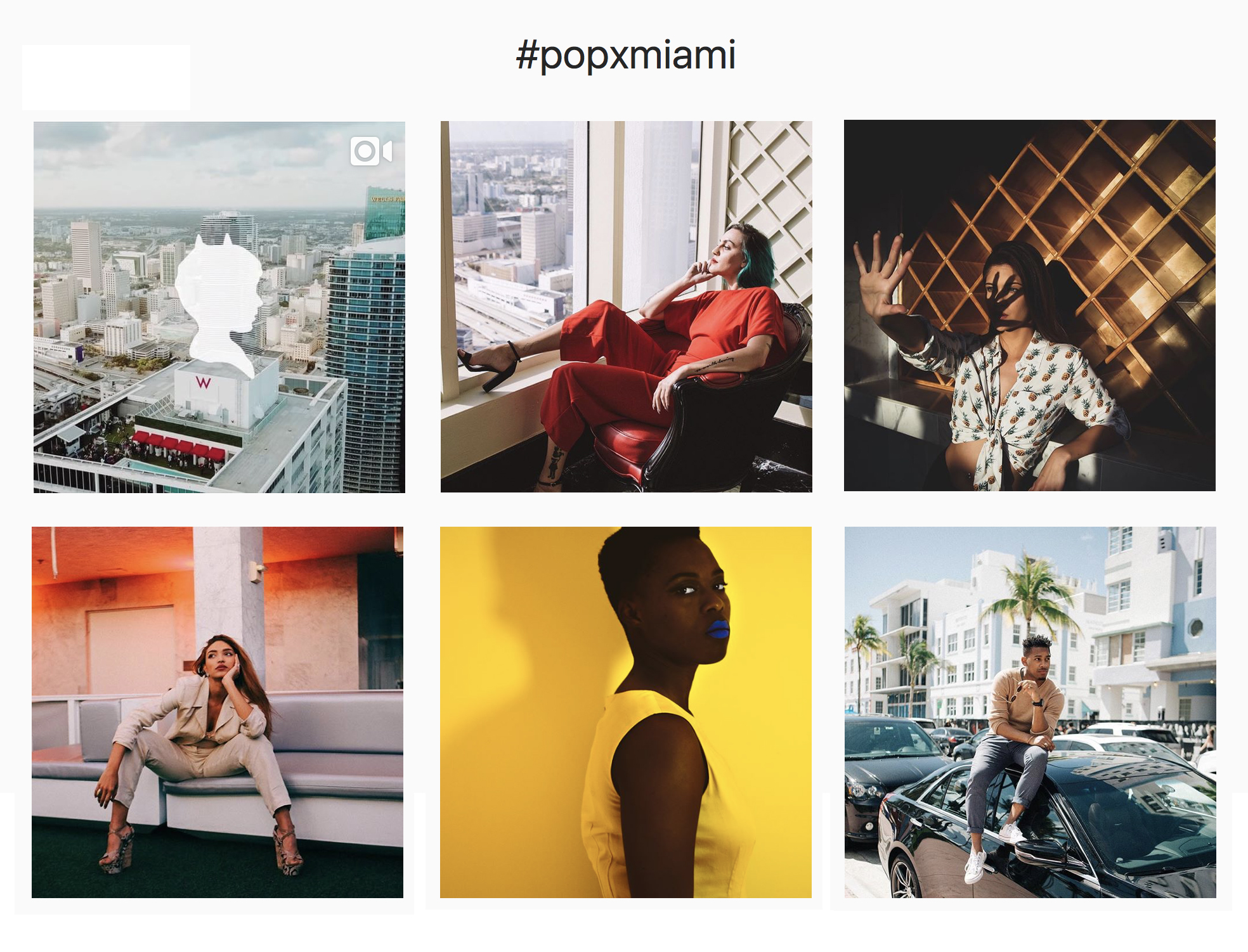 Select photos above via  #PoPxMiami