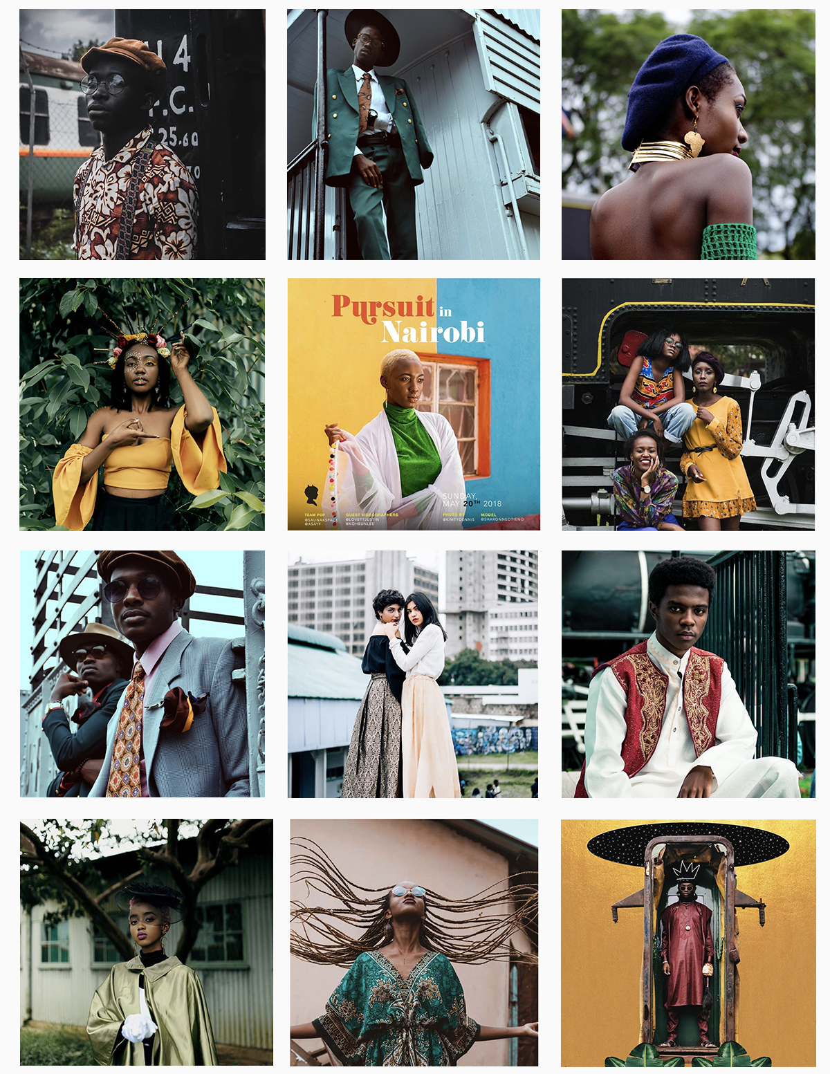 Photos above aggregated via  #PoPxNairobi
