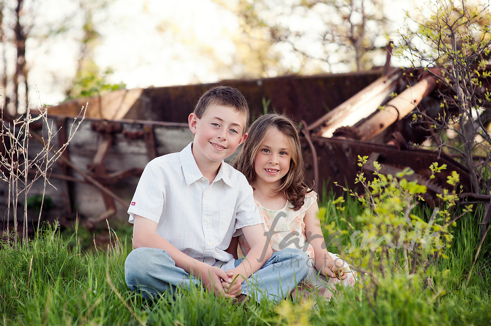 Spring mini session, brother & sister