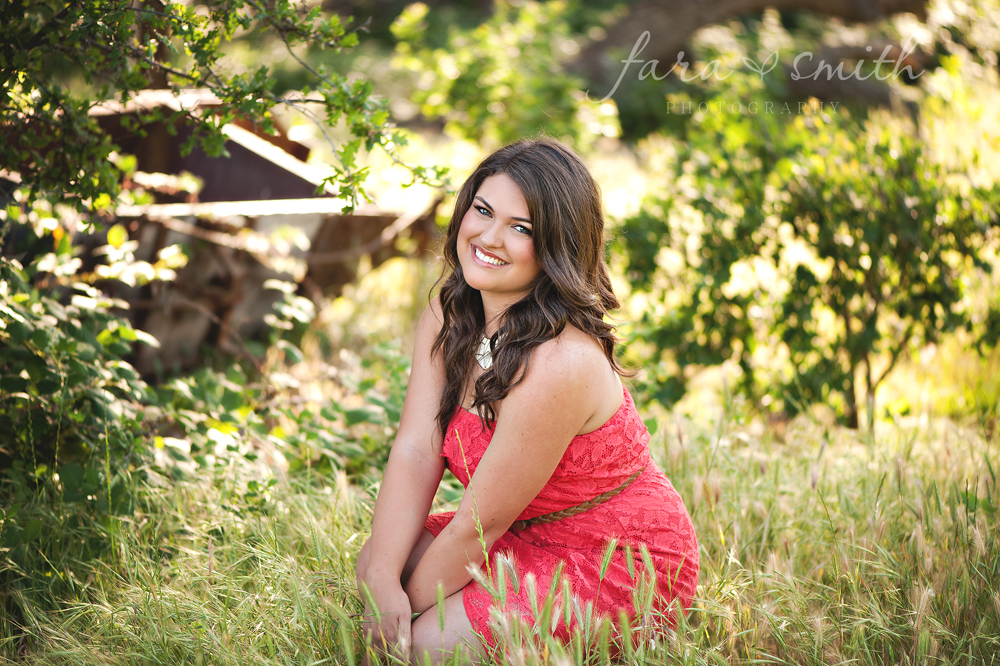 Lincoln, CA senior portrait photographer