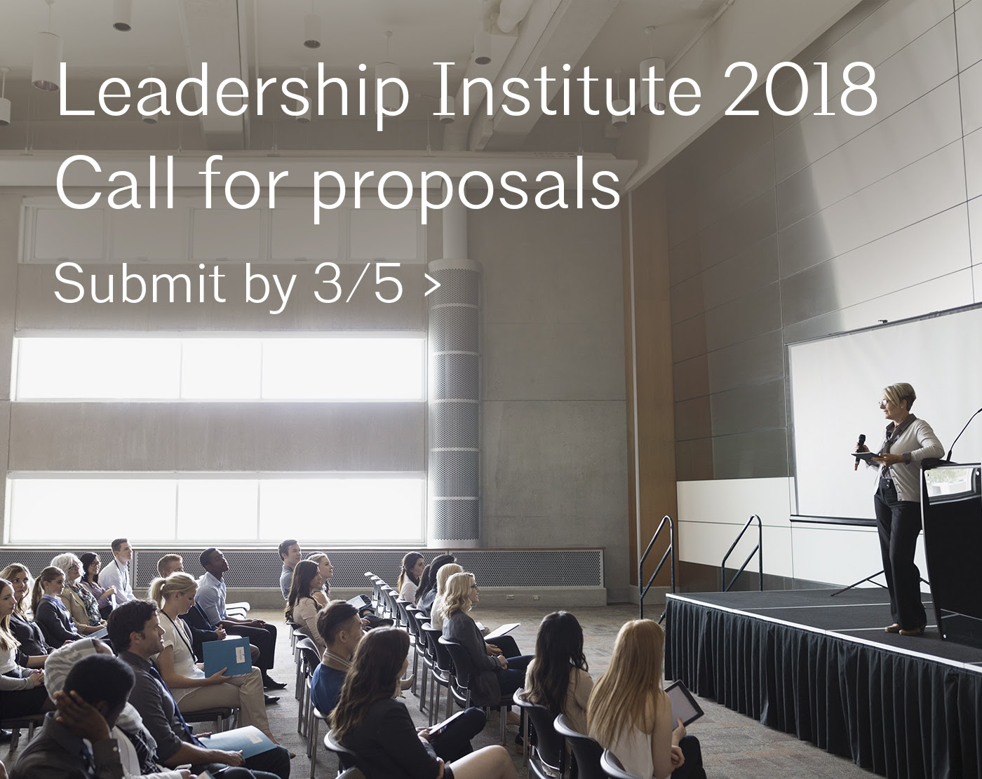 LI18_Call for proposals