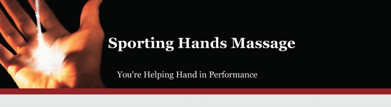 Sporting Hands Massage