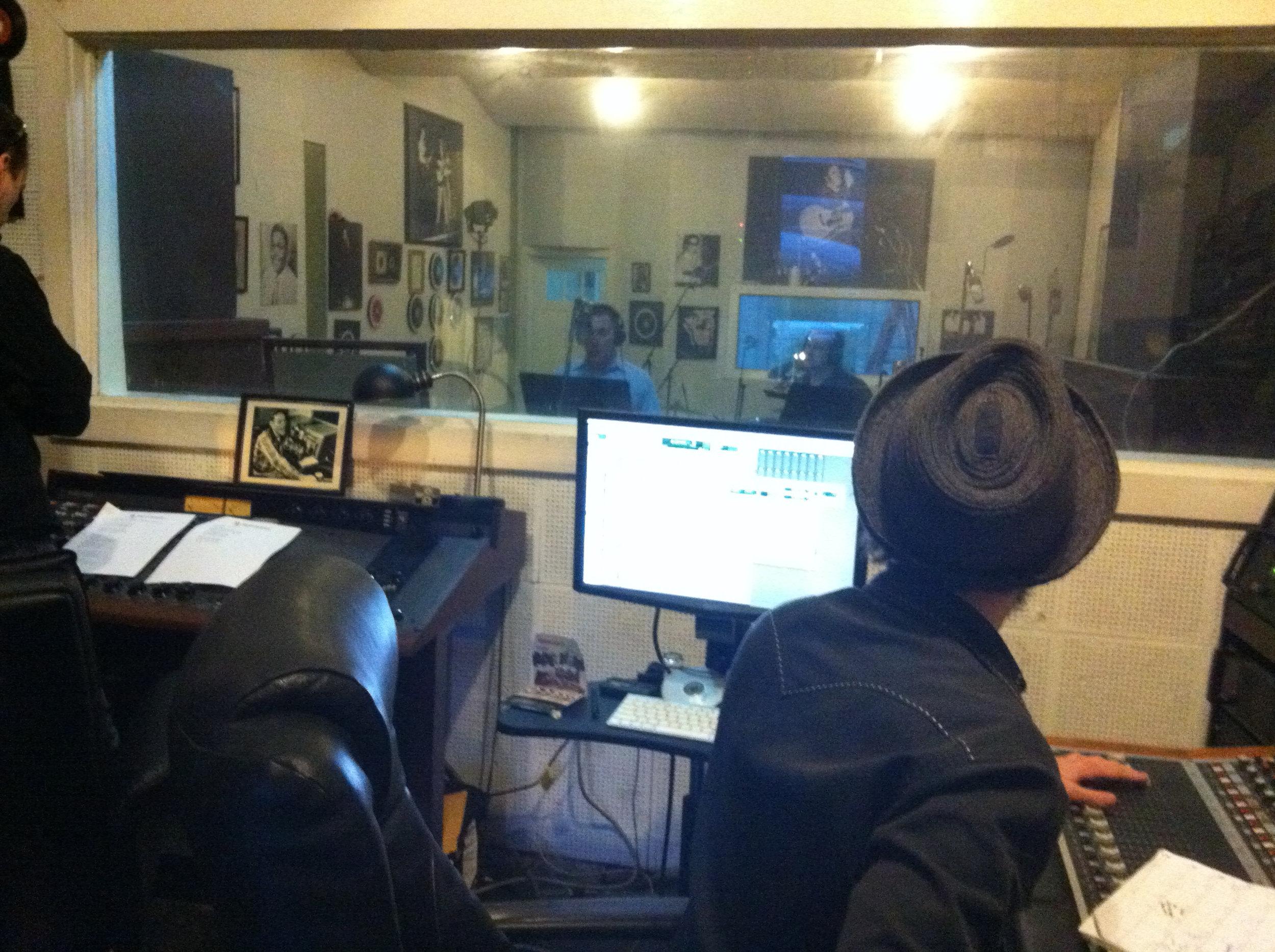 Control Room at Sun Studios in Memphis