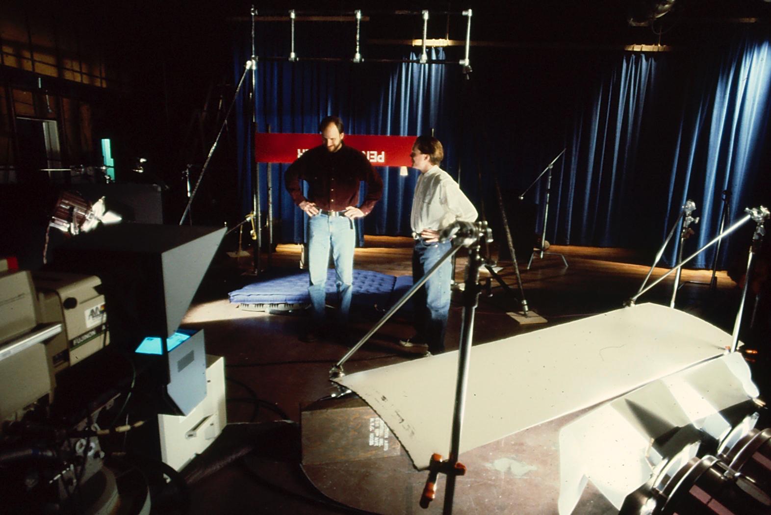 Penn & Teller Shoot in Tribeca