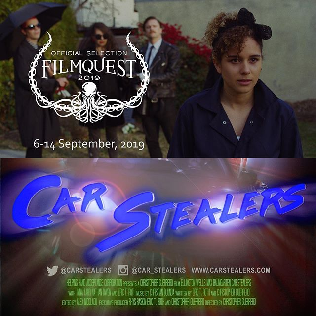 Excited to announce @car_stealers is going to @filmquest I've heard lots of great things and I'm already getting excited about the line up... They are announcing soon! So keep youeyes peeled! More festvals comming at you next week! . . . . . . . . , #filmquest #fil #filmmaking #filmmakers #moviemakers #screenwriting #prepareforthefantastic #genrefest #lantix #utahfilm #comedy #fantasy #scifi #director #producer #genrefilm #filmfest #lol