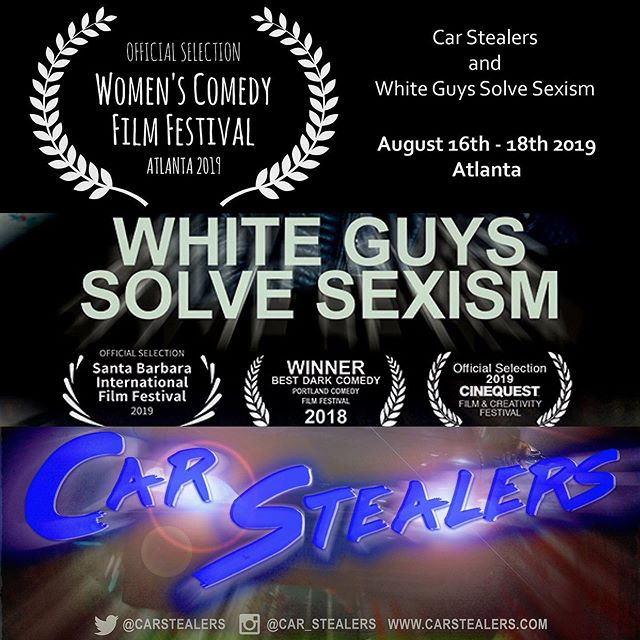 Great news! @car_stealers and @guyssolve are both going to the @womens.comedy.film.fest.atl August 16th -18th, if you are in Atlanta come check it out!. . . . . . . . . #film #filmmaking #filmmakers #moviemakers #screenwriting #prepareforthefantastic #genrefest #lantix #comedy #fantasy #scifi #director #producer #genrefilm #filmfest #lol