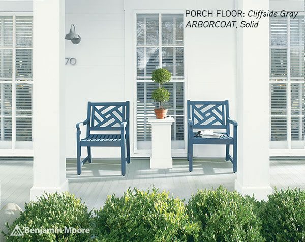 Benjamin Moore Arbourcoat Solid.PORCH FLOOR Cliffside Gray CHAIR Hamilton Blue  SIDING White copy.jpg