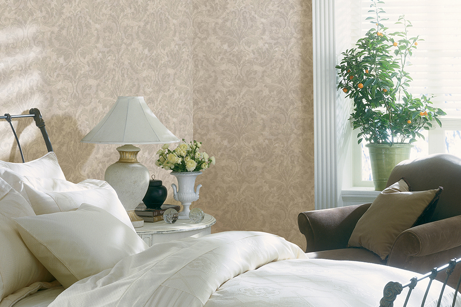 Brewster- Arbour Rose- FINLEY GREY REGAL DAMASK