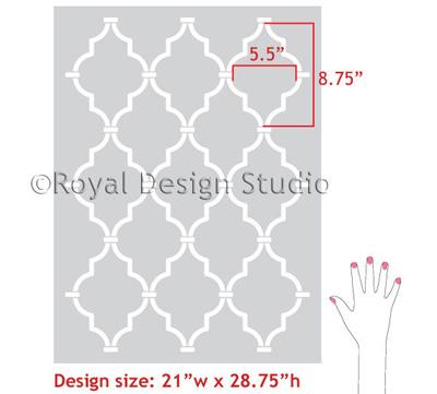 Casablanca Trellis Design