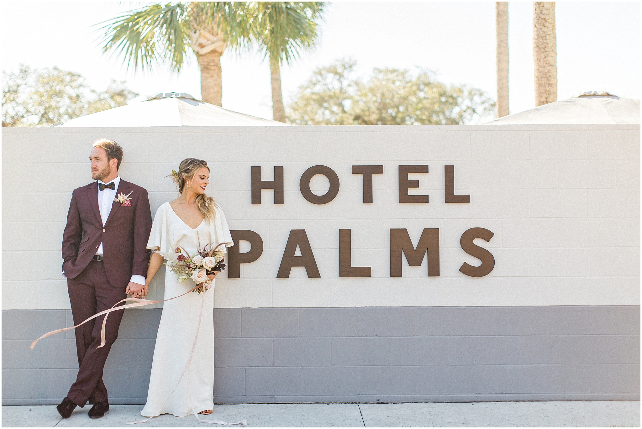 Audrey & Leon at Hotel Palms
