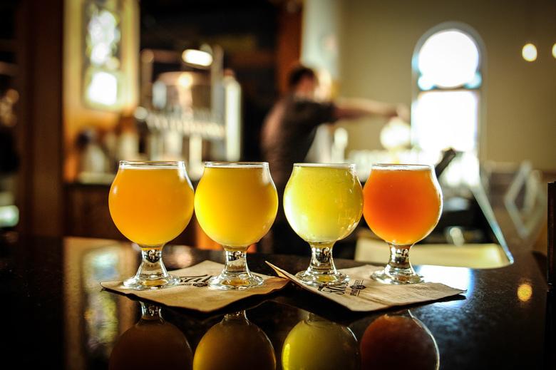 Craft beer at Salt Springs Brewery