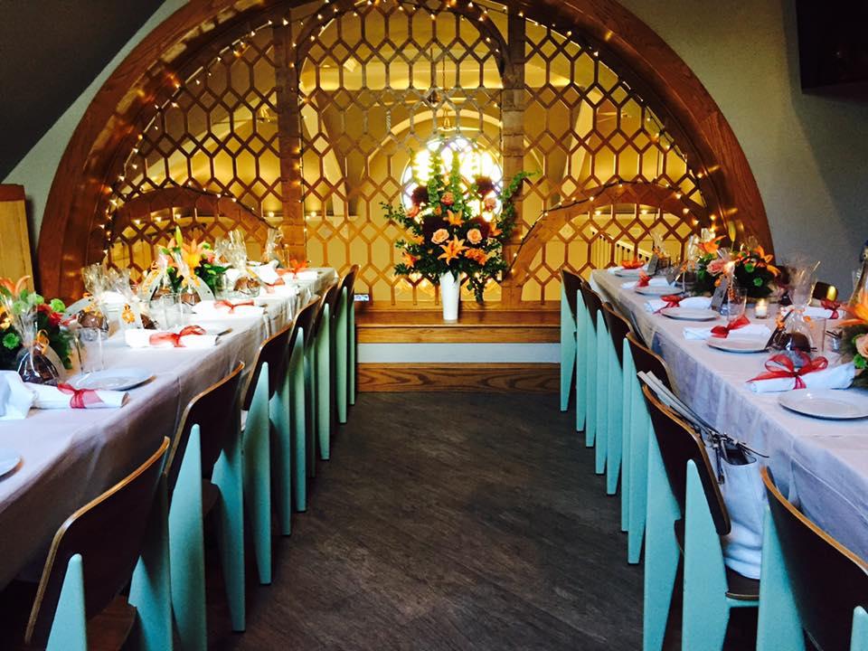 Wedding in mezzanine