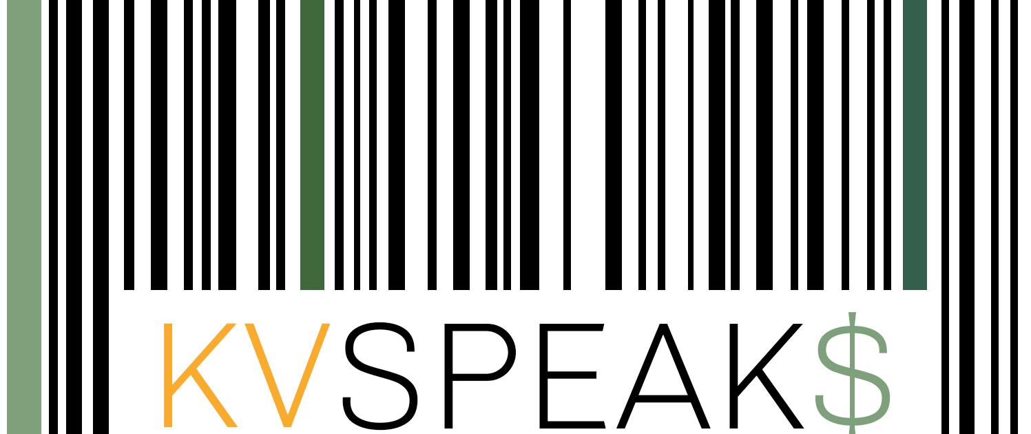 KVSPEAK$ Logo Design