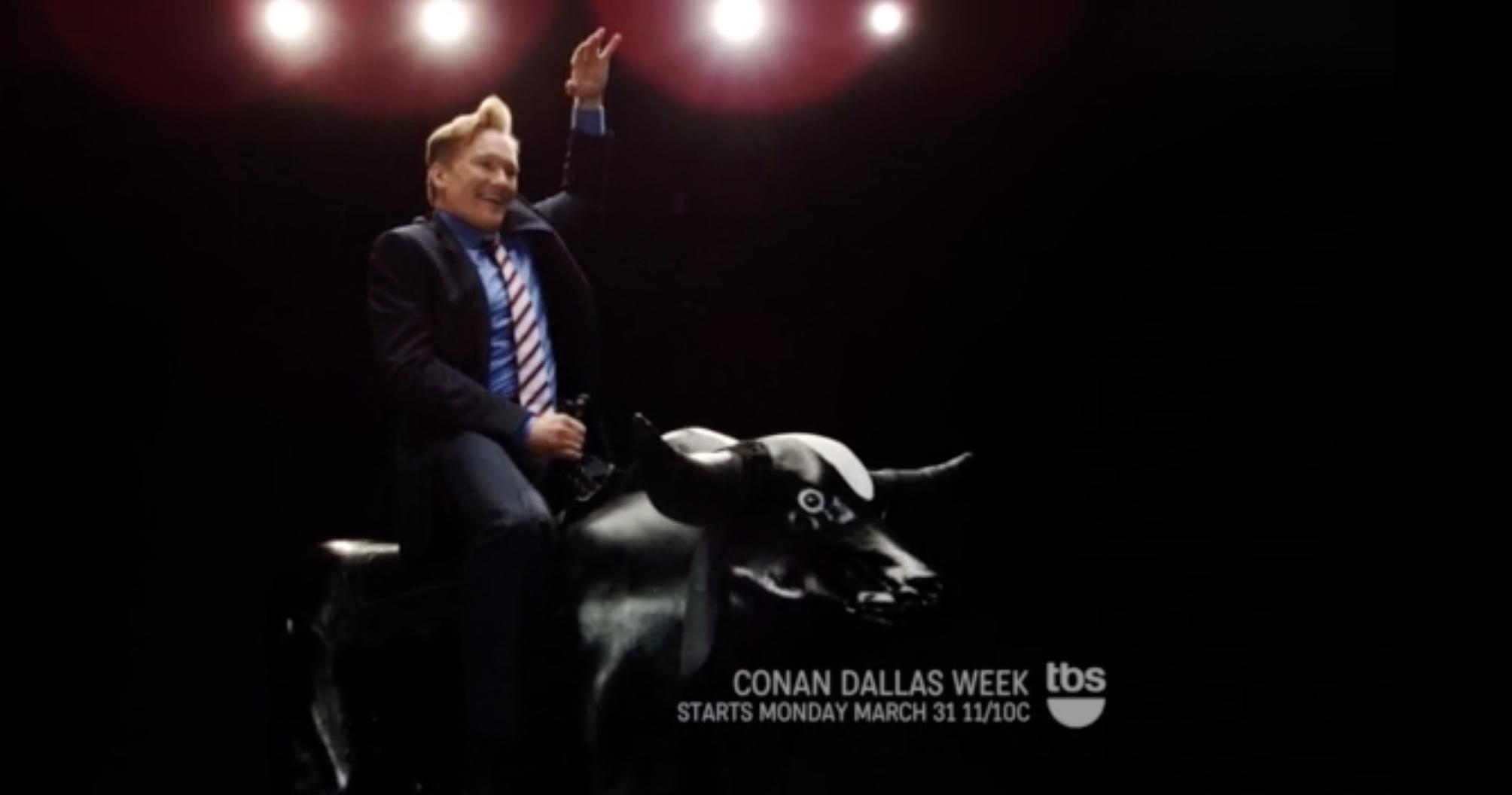 Conan x tbs, Figaro - :30 on-air promo, copywriter