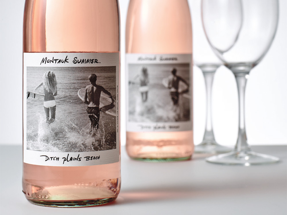 Montauk Summer Rosé - brand story/back label copy, writer