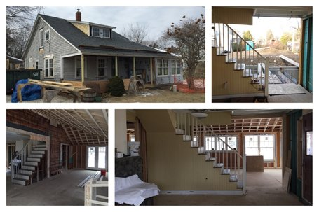 KHS small-house renovation/addition project in process