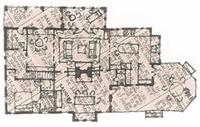 plan sketch with sun porch