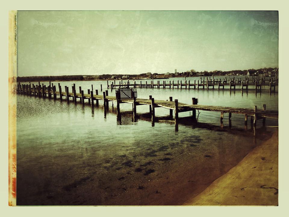 Edgartown winter piers