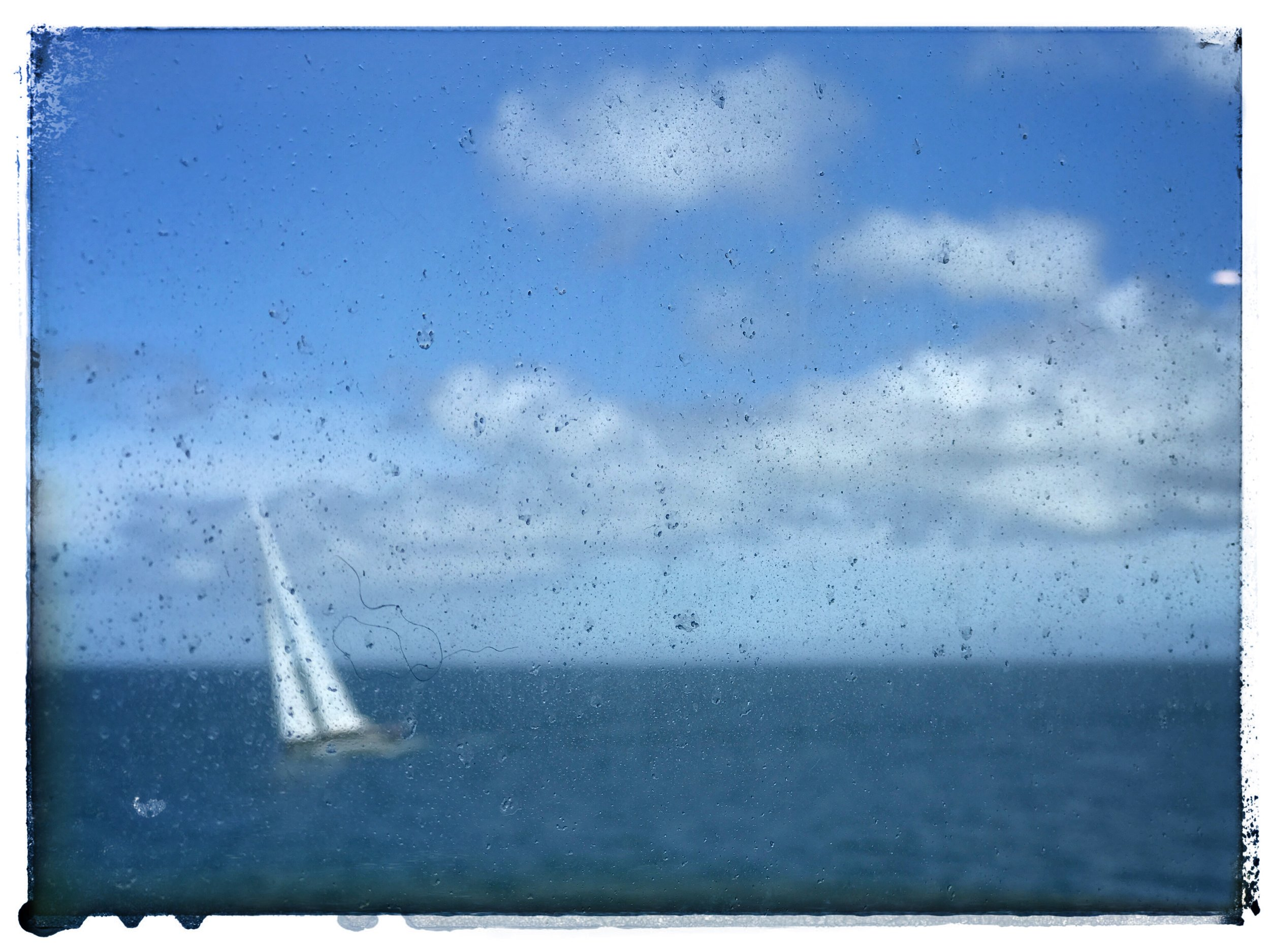 Steamship sail
