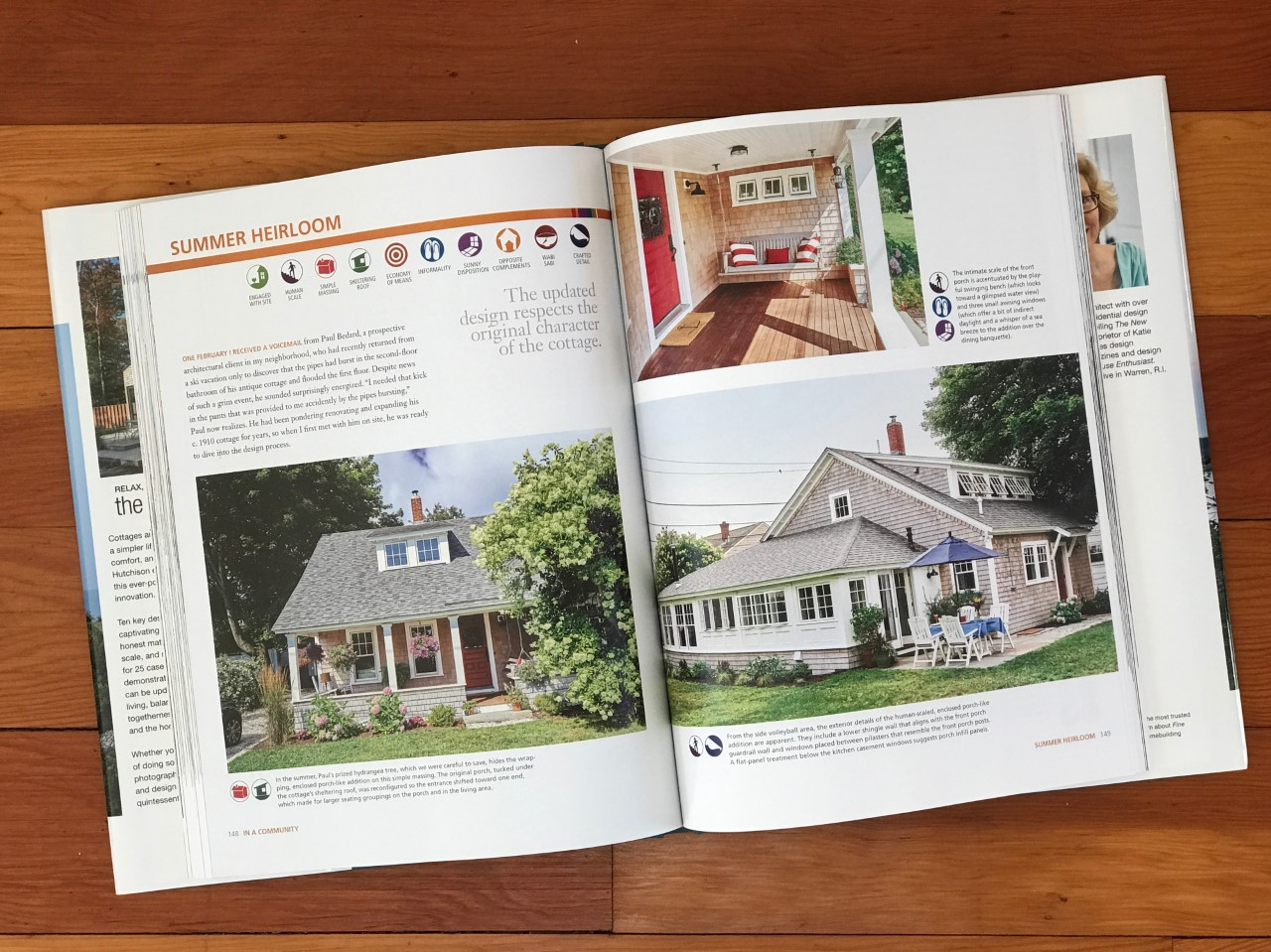 KHS architecture and design featured in  The New Cottage .