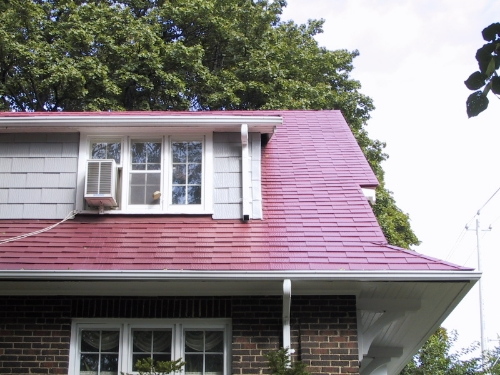 Metal shingles are becoming more common