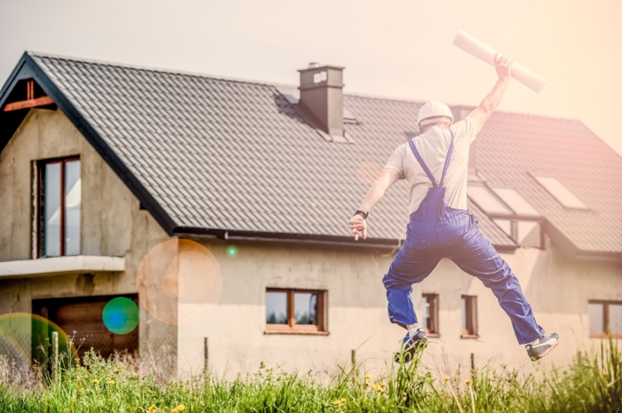 The sign of a good contractor is one who is willing to follow architectural plans and be subject to inspections - jumping up for joy is optional