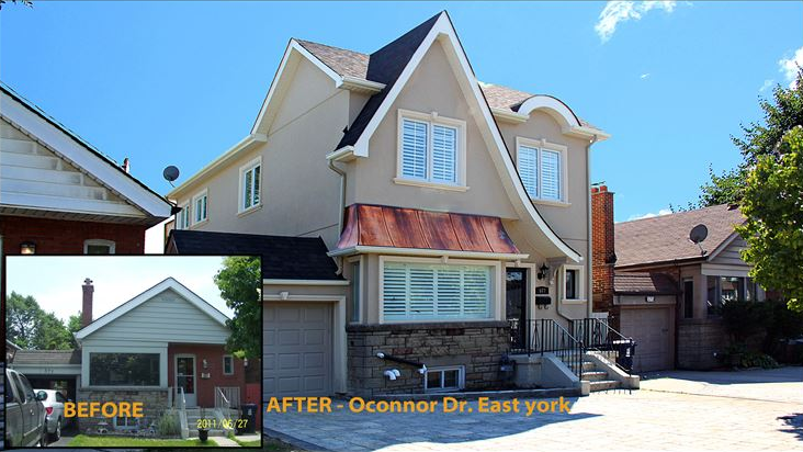 Top-up completed by Modular Home Additions Ltd. - photo courtesy of modular.ca