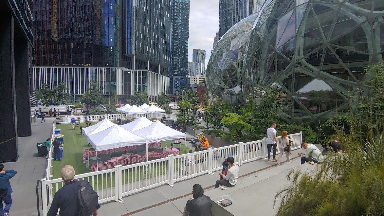 Amazon Sphere's are the landmarks that define its headquarters