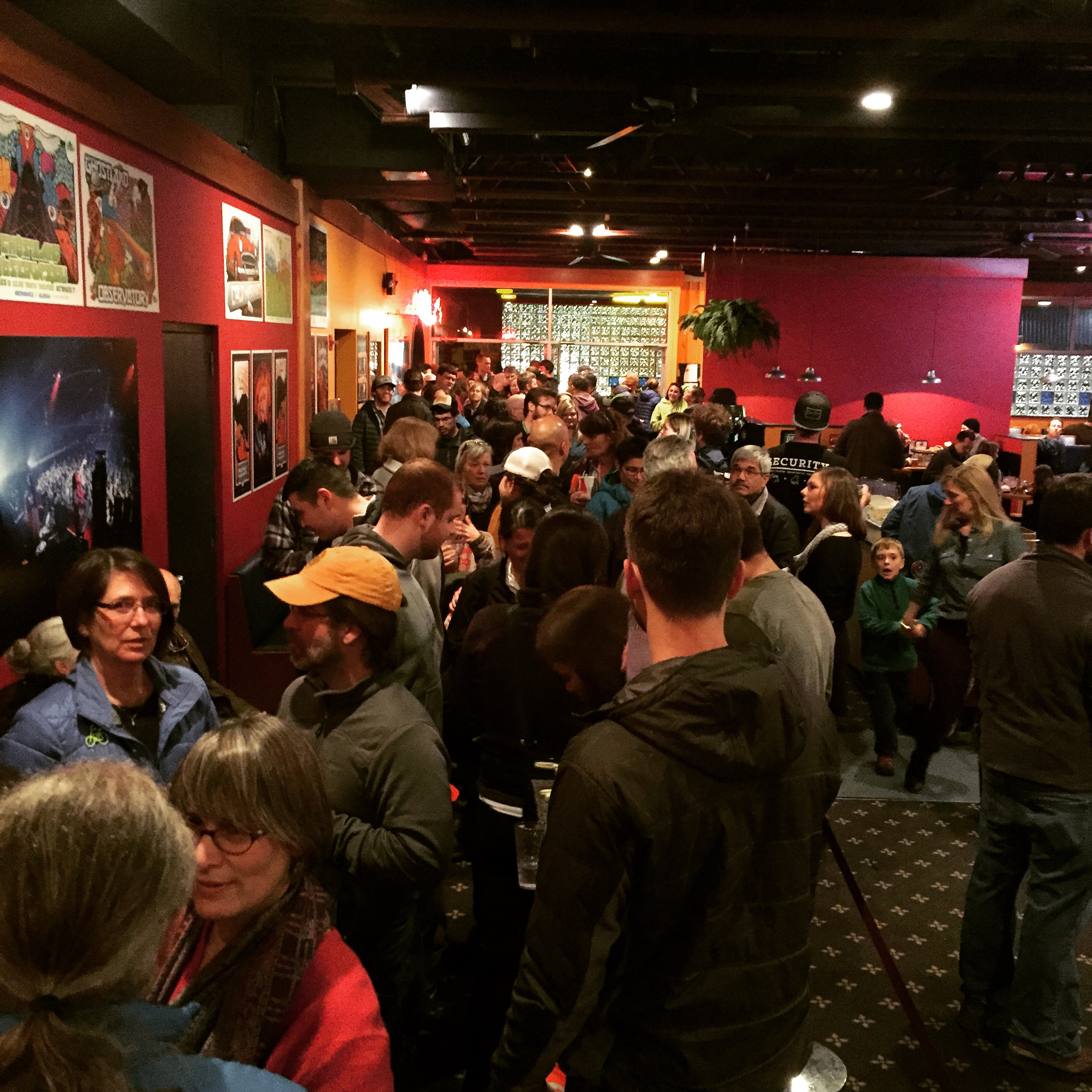 Packed house, lots of action-taking and great Q&A in Anchorage