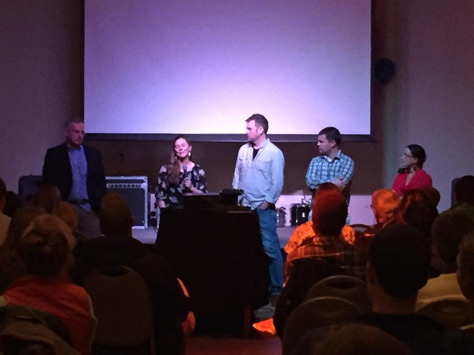 Q&A after the program in Juneau