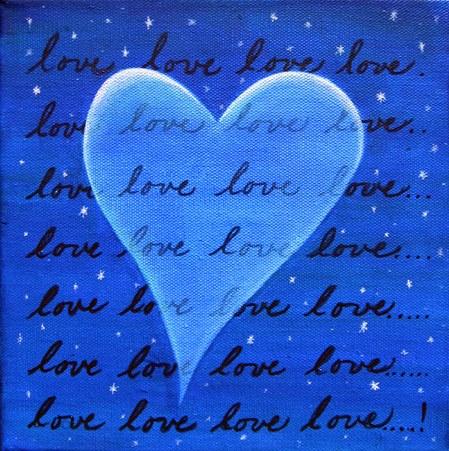 Transparent Love (Blue)
