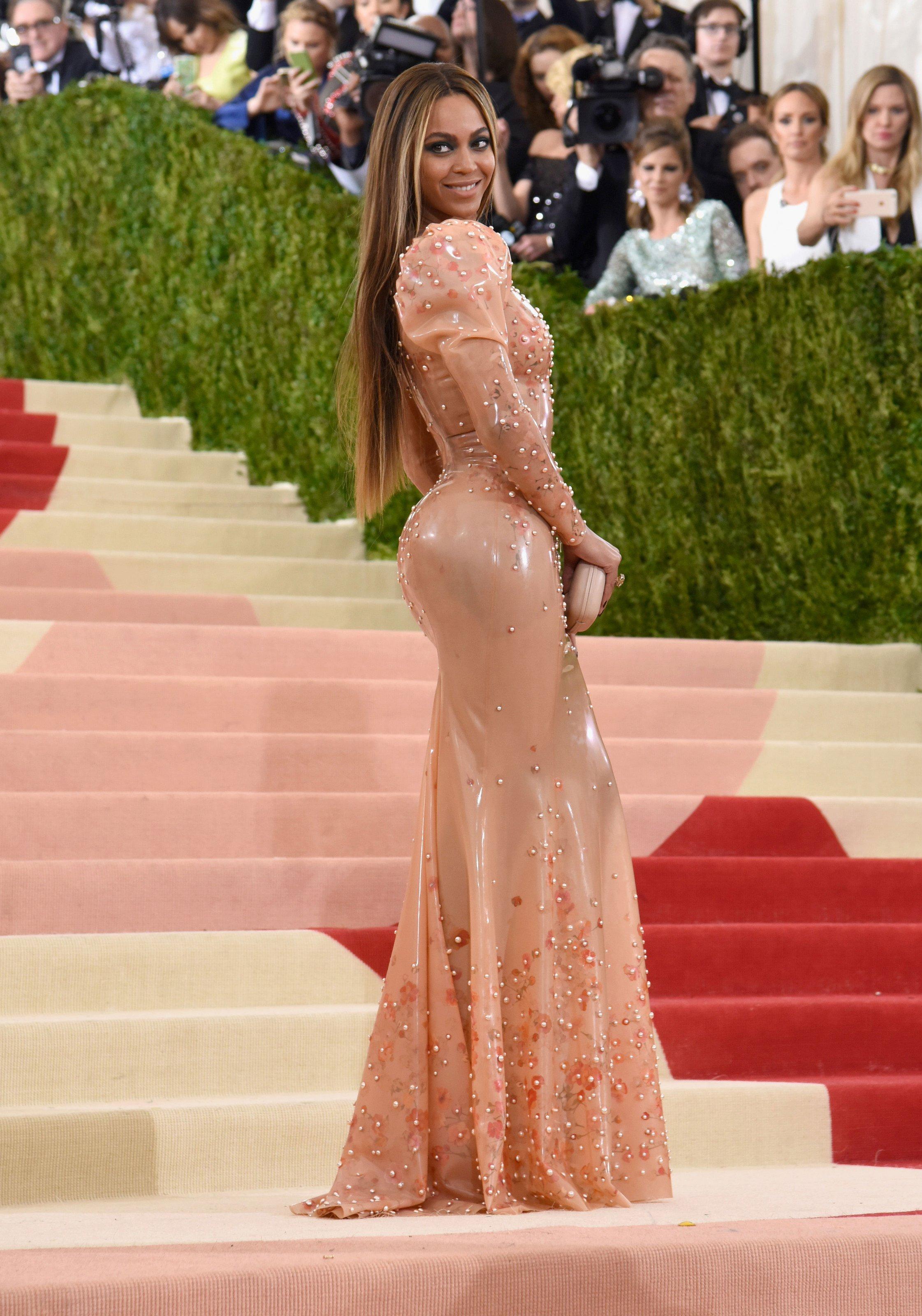 Beyoncé in custom Givenchy