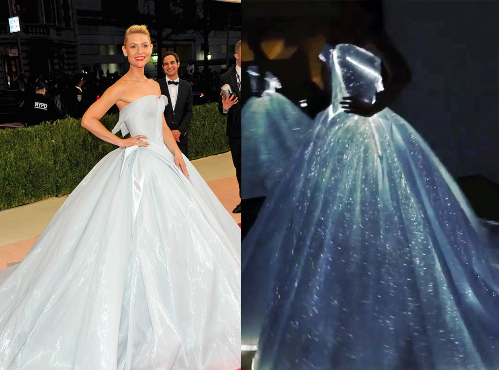 And... of course: Claire Danes in Zac Posen