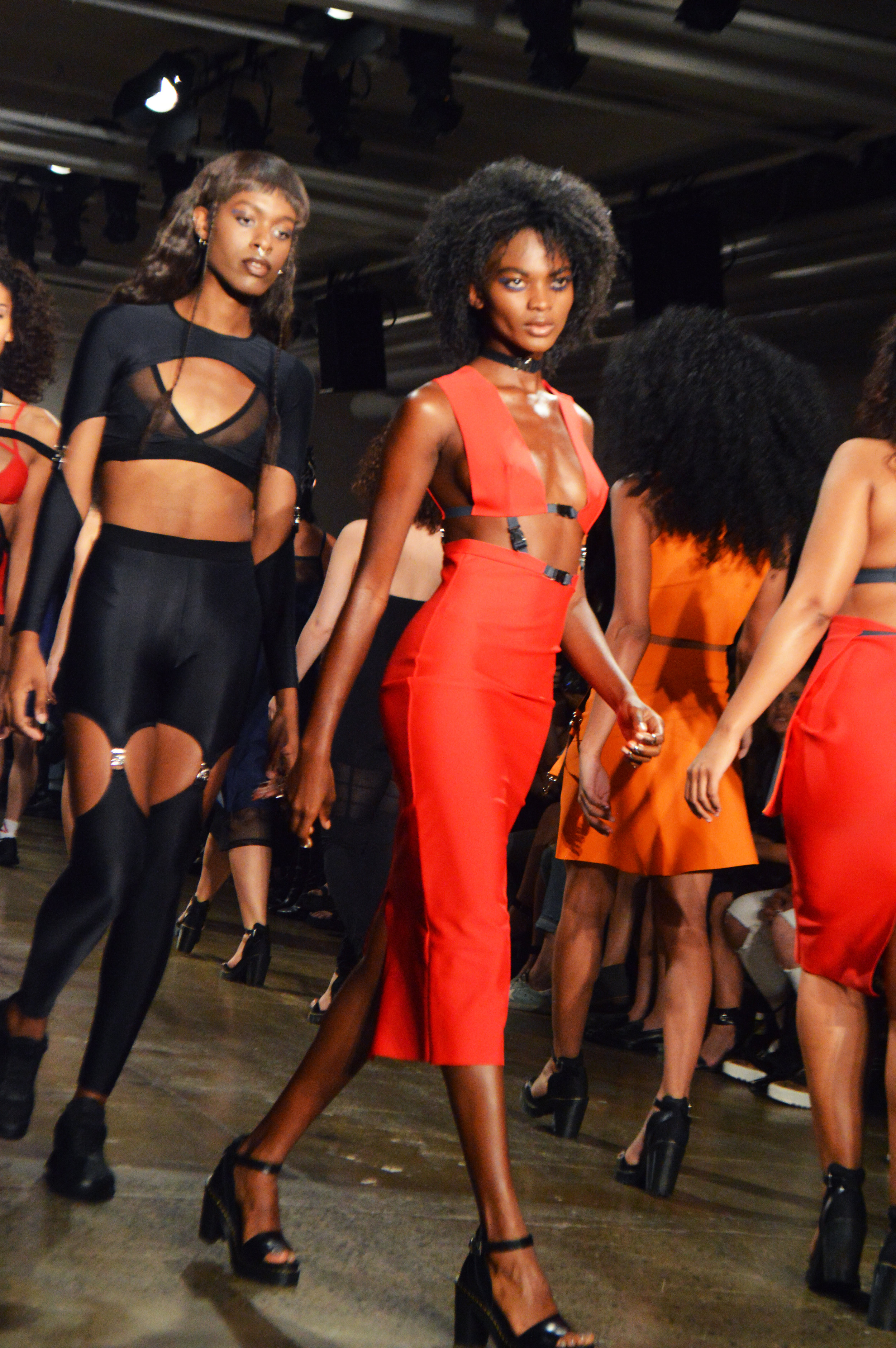(A shot of the Chromat SS17 runway from Issue 5)