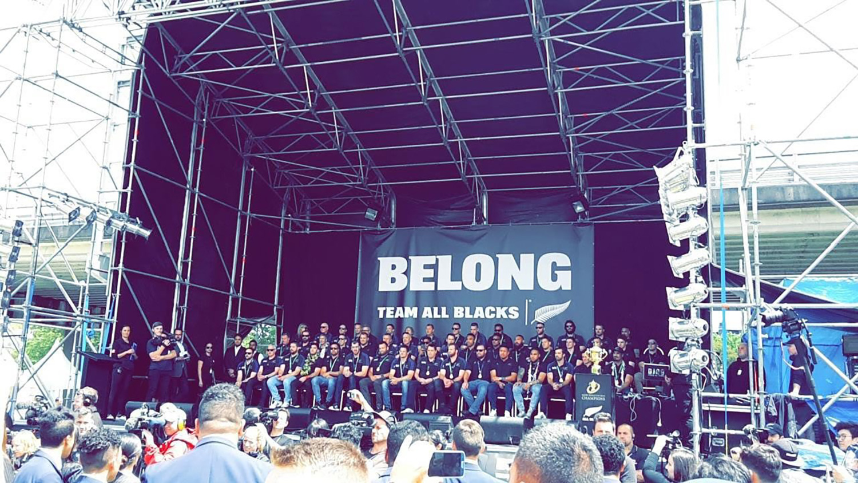 RWC 2015 – Return of Victorious All Blacks