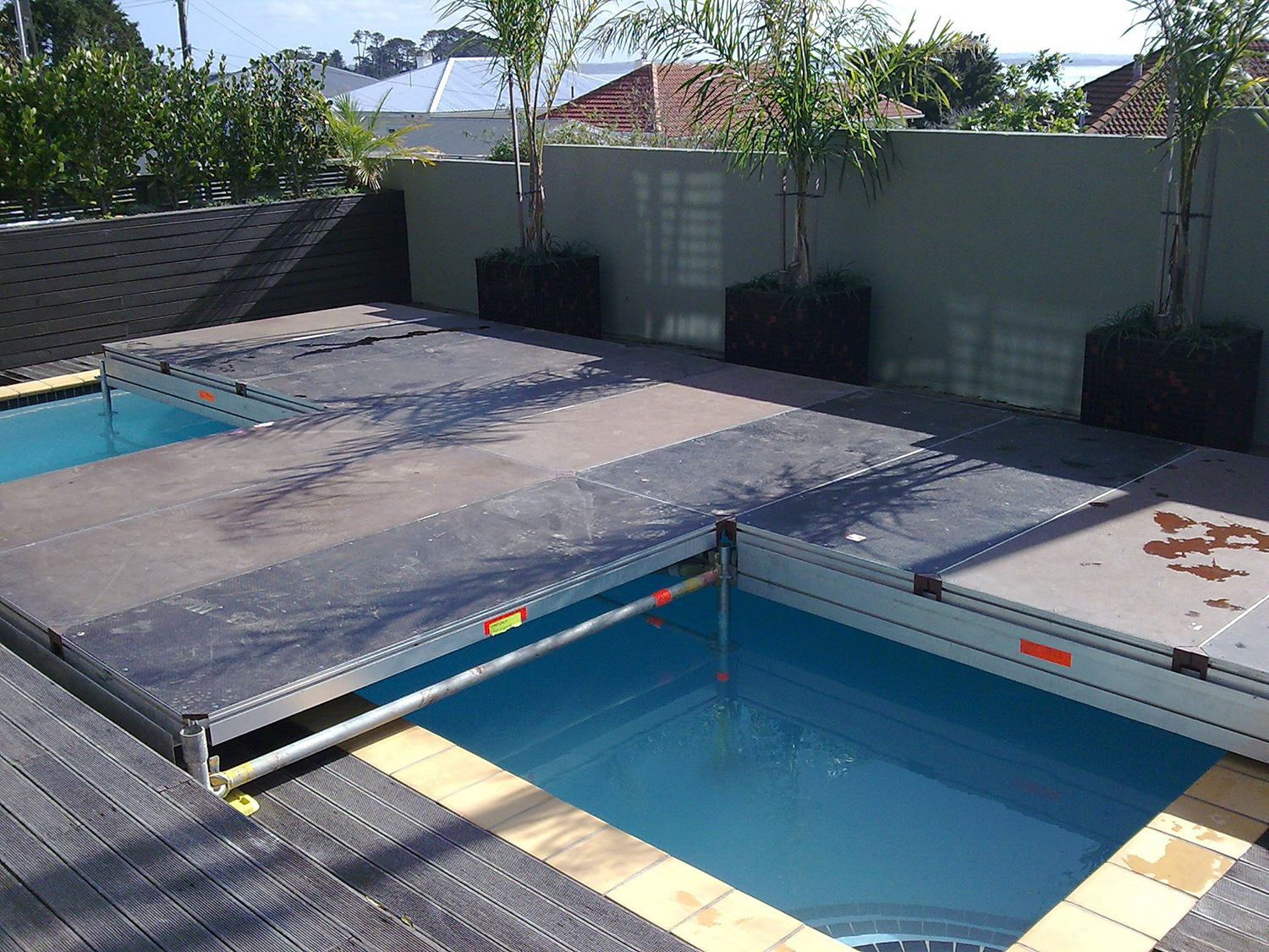 Stage/Catwalk Over Pool