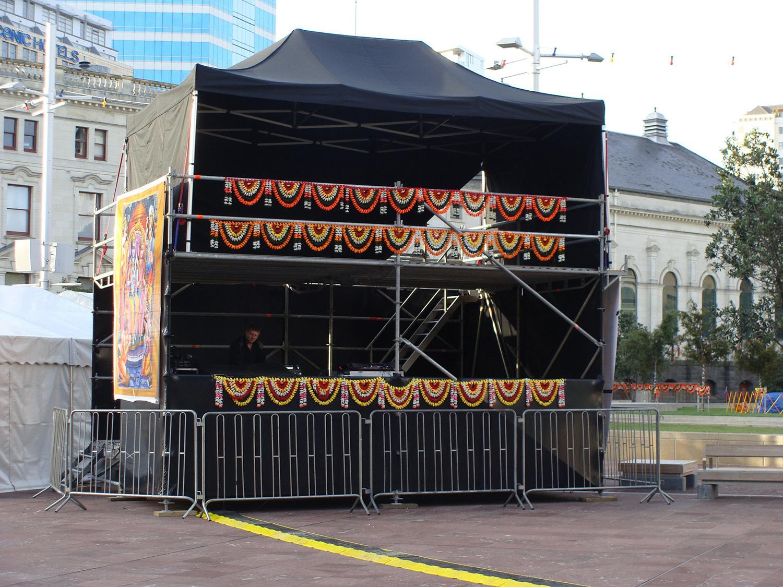 Diwali 2011 – FOH and Judges Platform