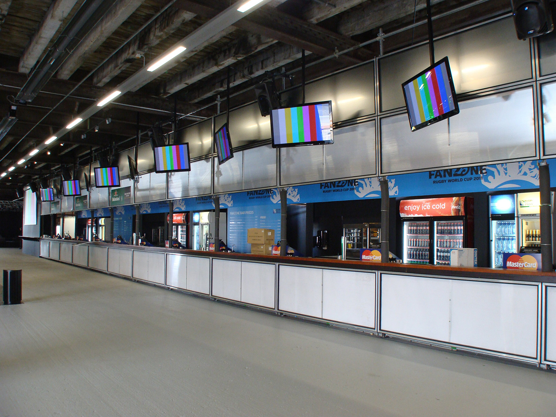 NZ's Longest Bar – RWC, Shed 10 2011