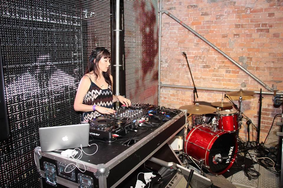 DJ Box in a Club