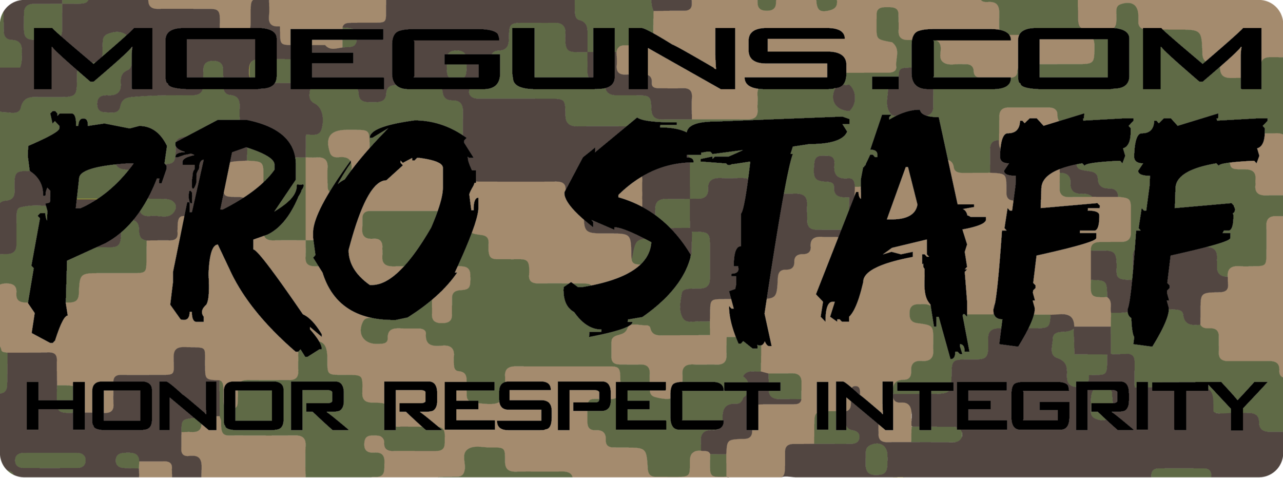 Exclusive Pro Staff Woodland Patch