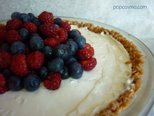 Berry Yogurt Pie 1